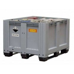 Pojemnik na akumulatory 610l